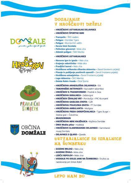 2. Hroščkov festival