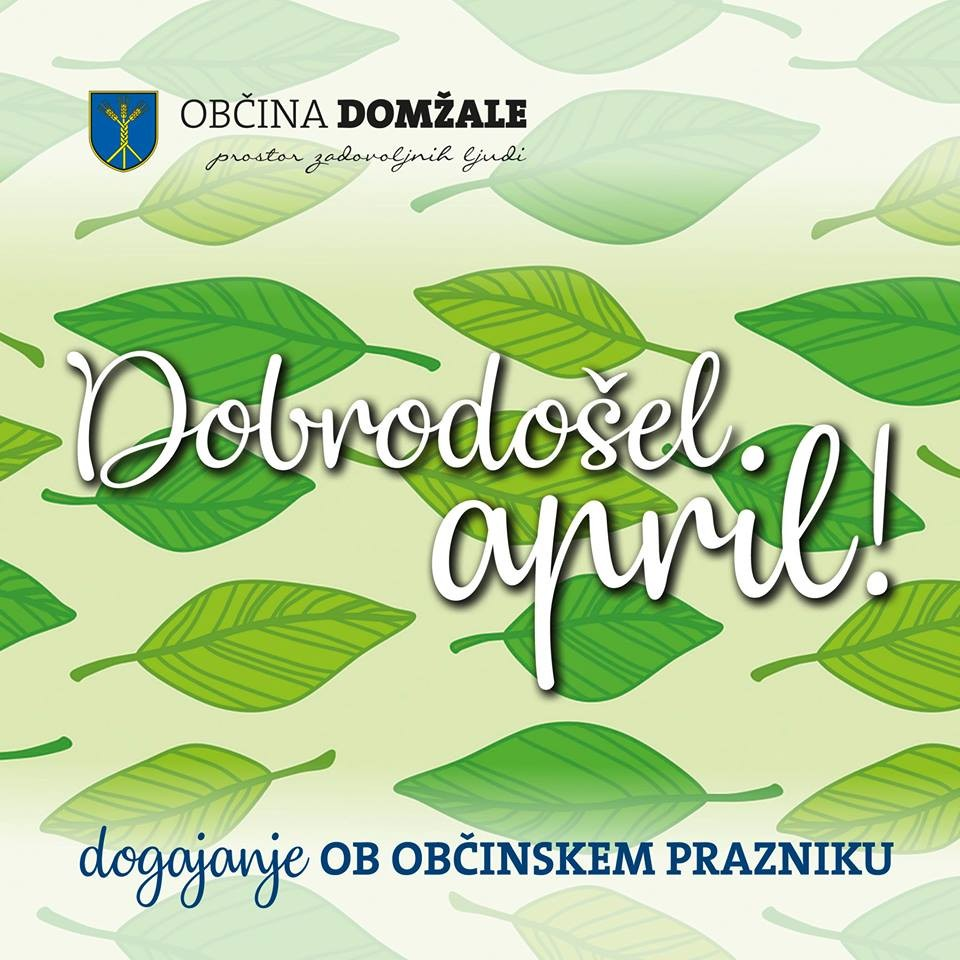 Dobrodošel april!