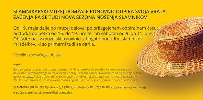 Slamnikarski muzej - Odpira se sezona nošenja slamnikov!